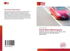 Front Row Motorsports kitap kapağı
