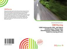Bookcover of ISM Racing