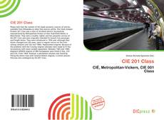 Bookcover of CIE 201 Class