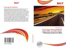 Bookcover of Courage Compétition