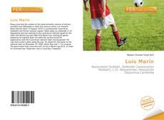 Portada del libro de Luis Marín