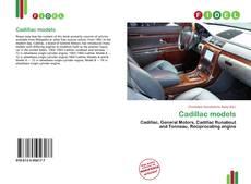 Borítókép a  Cadillac models - hoz