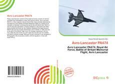 Portada del libro de Avro Lancaster PA474