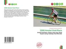 Bookcover of 2008 Amstel Gold Race