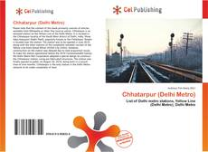 Portada del libro de Chhatarpur (Delhi Metro)