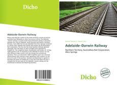 Обложка Adelaide–Darwin Railway