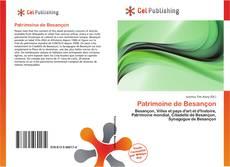 Capa do livro de Patrimoine de Besançon
