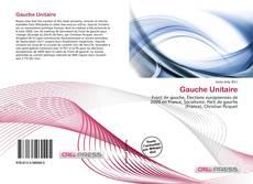Обложка Gauche Unitaire