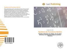 Bookcover of Système de Fonctions Itérées