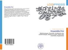 Bookcover of Ensemble Fini