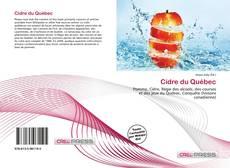 Обложка Cidre du Québec