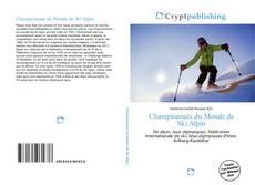 Portada del libro de Championnats du Monde de Ski Alpin