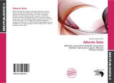 Capa do livro de Alberto Soto