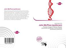 Couverture de John McPhee (politician)