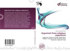 Buchcover von Argument from religious experience