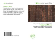 Bookcover of Frederick Mann