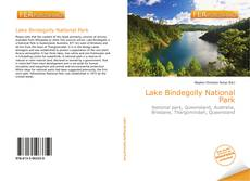 Bookcover of Lake Bindegolly National Park