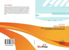 Bookcover of Java Applet