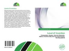 Bookcover of Level of Invention