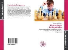 Copertina di Psychologie Échiquéenne