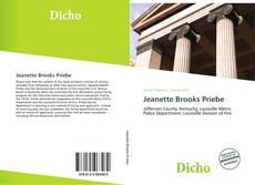 Buchcover von Jeanette Brooks Priebe