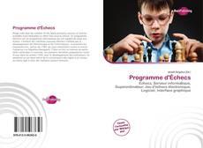 Bookcover of Programme d'Échecs