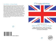 Bookcover of John Maffey, 1st Baron Rugby