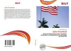 Bookcover of John Trumbull