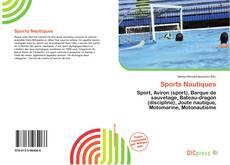 Capa do livro de Sports Nautiques