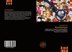 Bookcover of Anxiolytique