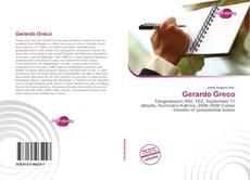 Bookcover of Gerardo Greco