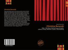 Copertina di Christine Baranski
