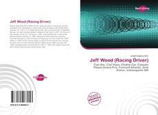 Bookcover of Jeff Wood (Racing Driver)