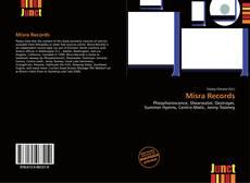 Bookcover of Misra Records