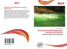 Couverture de Commonwealth Banknote-issuing Institutions