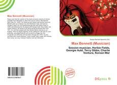 Portada del libro de Max Bennett (Musician)