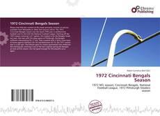 Bookcover of 1972 Cincinnati Bengals Season