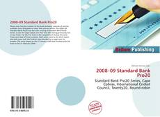 Bookcover of 2008–09 Standard Bank Pro20