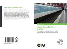 Portada del libro de Cape Town Railway Station