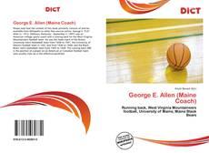 Bookcover of George E. Allen (Maine Coach)