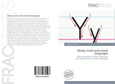 Malay trade and creole languages kitap kapağı