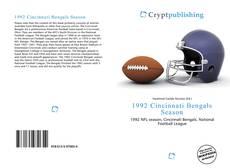 Bookcover of 1992 Cincinnati Bengals Season