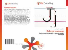 Bookcover of Bukawa language