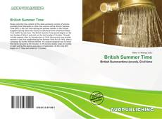 Bookcover of British Summer Time