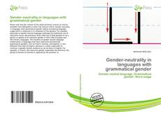 Couverture de Gender-neutrality in languages with grammatical gender