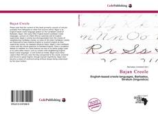 Bookcover of Bajan Creole