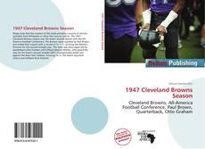 Portada del libro de 1947 Cleveland Browns Season