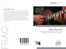Portada del libro de Kaoru (Musician)