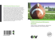 Portada del libro de 1949 Cleveland Browns Season