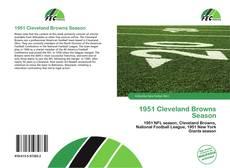 Couverture de 1951 Cleveland Browns Season